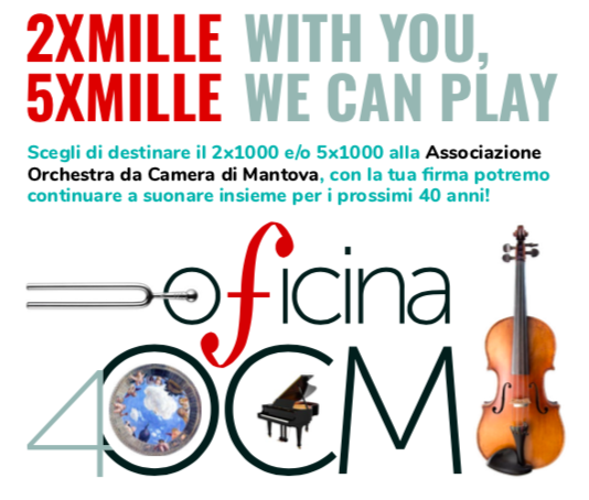 2xmille, 5xmille: With You, We Can Play!